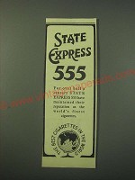 1942 State Express Cigarettes Ad