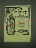 1942 The Antiquary Scotch Ad - The Antiquary finest Scotch Whisky