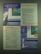 1988 Dow Corning Performance Plus Silicone Sealant Ad - Easy to Use