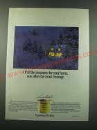 1988 Cabot Stains Ad - Of all the insurance for your home, one offers the most