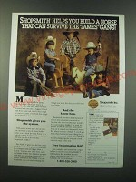 1988 Shopsmith Mark V Ad - Shopsmith helps you build a horse that can survive