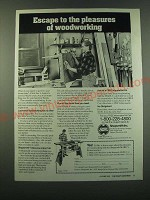1988 Shopsmith Mark V Ad - Escape to the pleasures of woodworking