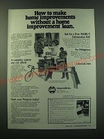 1988 Shopsmith Mark V Ad - How to make home improvements without a home