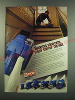 1988 Ryobi Sanders Ad - Smooths your path every step of the way