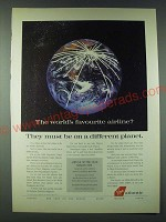 1989 Virgin Atlantic Ad - The world's favourite airline?