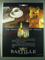 1989 Bastille Brandy Ad - The spirit of France