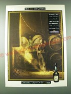 1989 Martell Cognac Ad - The art of giving