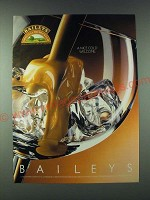 1989 Baileys Irish Cream Ad - A nice cold welcome