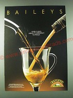 1989 Baileys Irish Cream Ad - When guests arrive, it's important to mingle