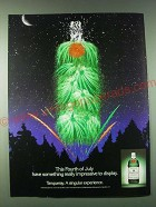 1989 Tanqueray Gin Ad - This Fourth of July have something really impressive