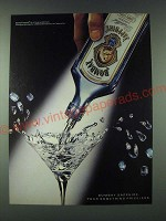 1989 Bombay Sapphire Gin Ad - Bombay Sapphire Pour Something Priceless