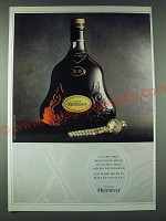 1989 Hennessy X.O. Cognac Ad - It takes 1000 painstaking hours to create