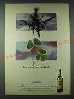 1989 Jameson Whisky Ad - The smoother the Irish