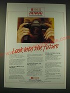 1989 Ricoh Mirai Camera Ad - Look into the future