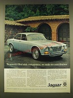 1971 Jaguar XJ6 Ad - To a world filled with compromise, we make no contribution