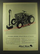 1964 Wheel Horse Riding Lawn Mower Ad - Power Horse (Wheel Horse of Course)