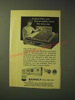 1963 Schult Mobile Homes Ad - Custom-Plan your schult mobile home this easy way