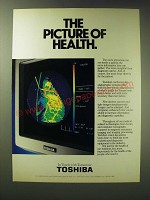 1989 Toshiba Cardiovascular Angiographic Systems Ad - The picture of health