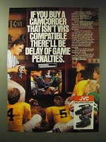 1989 JVC VHS Camcorder Ad - If you buy a camcorder that isn't VHS compatible