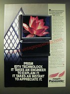 1989 Panasonic Prism IDTV Television Ad - It takes an Engineer