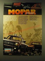 1989 Mopar Accessories Ad - Designed to fit your life-style
