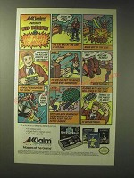1989 Acclaim Ad - Remote Controller, Air Wolf, and Iron Sword Video Games