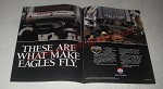 1989 Eagle Cars Ad - These are what makes eagles fly