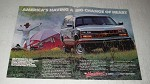 1989 Chevy Extended Cab Pickup Truck Ad - America's having a big change of heart