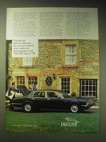 1989 Jaguar XJ6 Car Ad - The British have an affection for art and tradition