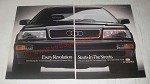 1989 Audi car Ad - Every revolution starts in the streets