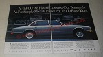 1990 Jaguar XJ6 Car Ad - At $39,700 we haven't lowered our standards