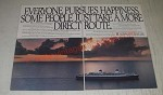 1989 Norwegian Cruise Line Ad - Everyone pursues happiness