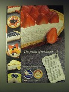 1989 Cool Whip and Ready Crust Ad - Cheesecake Pie Recipe