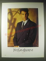 1989 Yves Saint Laurent Fashion Ad