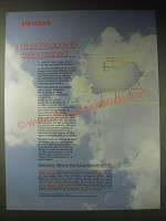1989 Siemens Limited Ad - Hi-technology in every respect