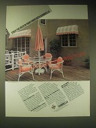 1989 Sunbrella Fabric Ad - Stack the deck in your favor with Sunbrella