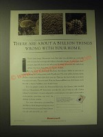 1989 Honeywell Electronic Air Cleaner Ad - There are about a billion things