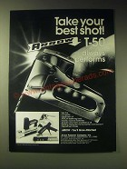 1989 Arrow T-50 Staple Gun Tacker Ad - Take your best shot! T-50 always performs