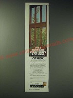 1989 Marvin Windows Ad - For a remodeling project that's a cut above, cut below