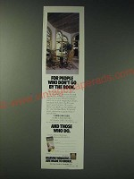 1989 Marvin Windows Ad - For people who don't go by the book