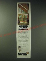 1989 Marvin Windows Ad - Save energy. Use your imagination