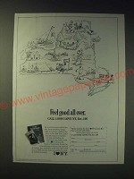 1989 New York Tourism Ad - Feel good all over