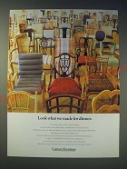 1989 Century Furniture Ad - Look what we made for dinner