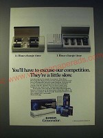 1989 Eveready Generator One hour Rechargeable Battery System Ad