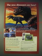 1989 United States Postal Service Ad - The new dinosaurs are here!