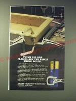 1989 Vise-Grip Locking Bar Clamps Ad - Think all bar clamps are the same?