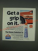 1989 Elmer's Stix-all Adhesive Ad - Get a grip on it