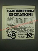 1989 K&N Intake Performance Kit Ad - Carburetion Excitation