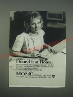 1989 ABC Home TV Show Ad - I found it at Home