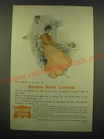 1902 Rock Island System Railroad Ad - Our ambition is to make the Golden State